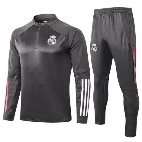 Серый тренировочный костюм Реал Мадрид 2020-2021 сезона